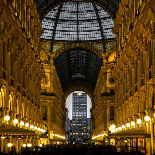Prima tappa: Milano